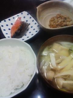 鮭と納豆とたまご