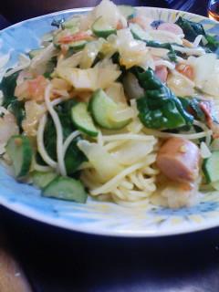 野菜スパゲッティー