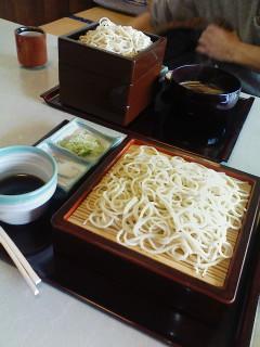 せいろ蕎麦&天ぷら各種