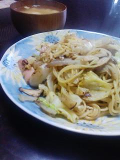 野菜スパゲティ