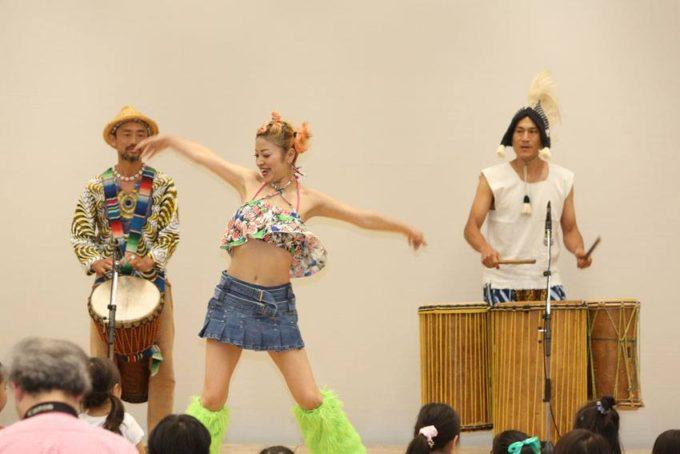 アフリカンダンスワークショップ ~ Kids Meet Music in 大井町~