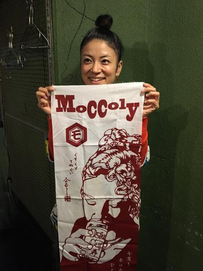 Moccoly生誕40周年記念手ぬぐい完成!