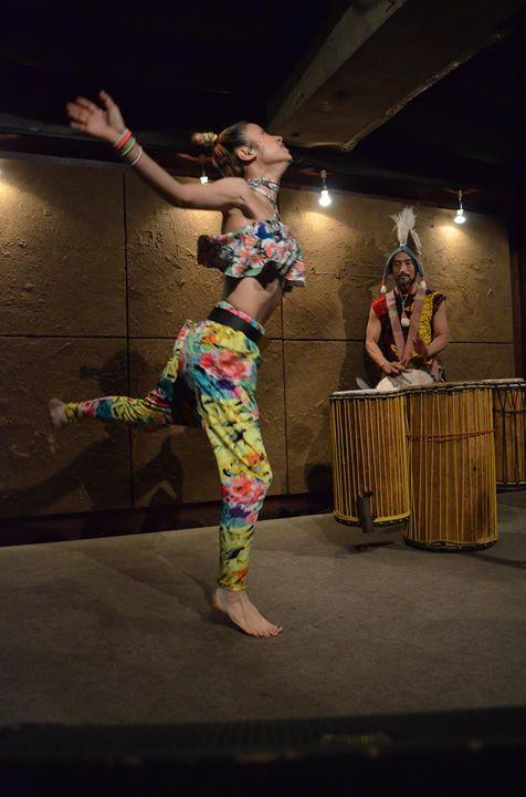 一期JAMpresents!!Moccolyのアフリカンダンスworkshop