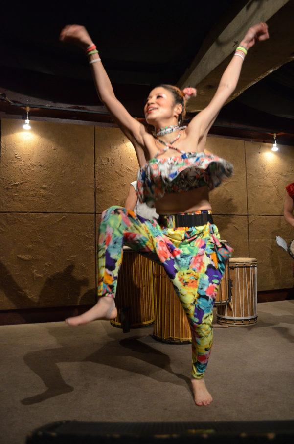 明日のアフリカンダンスクラスは予定通り開催します☆