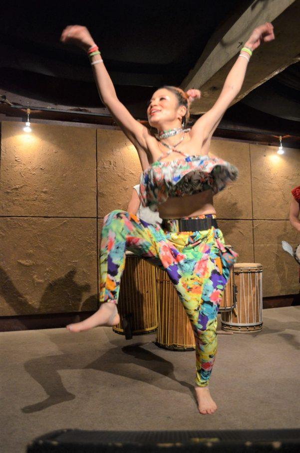 アフリカンダンスクラス変更